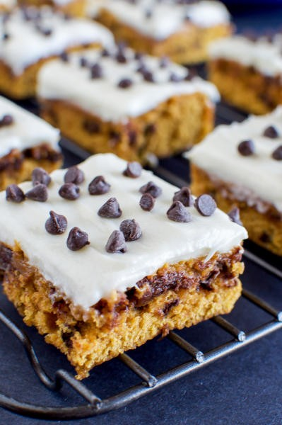 Pumpkin Bars with Cream Cheese Frosting Pic