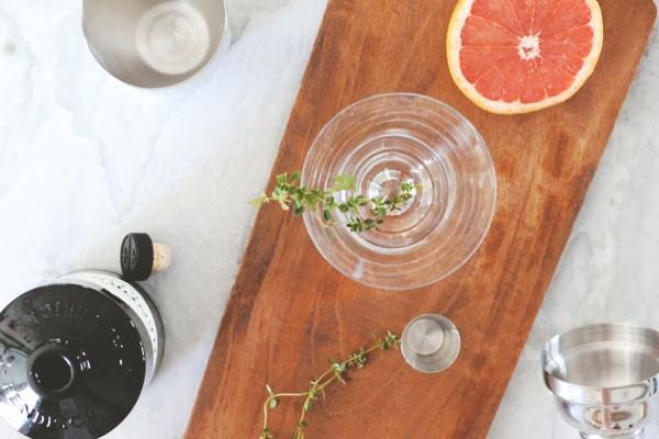 Hendricks Gin Sage Grapefruit Cocktail 4