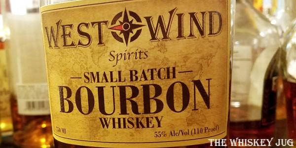 West Wind Bourbon Label