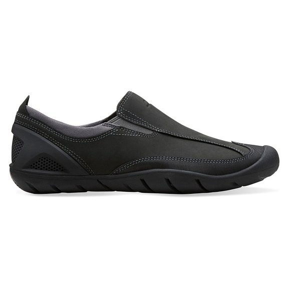 Clarks 'Outfish Spray' Leather Slip-On