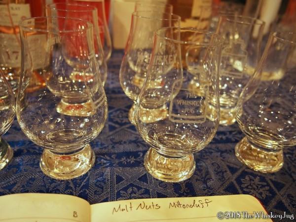 Malt Nuts - Miltonduff 20+ Years Tasting - 1