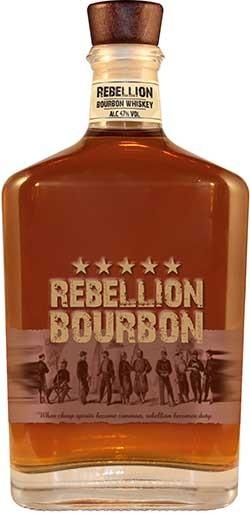 Rebellion Bourbon Bottle