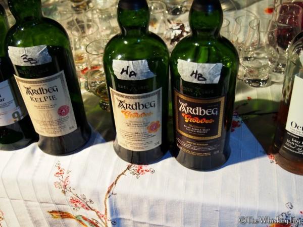 Malt Nuts: 13 Drams of Ardbeg Round 4 - 4A: Ardbeg Grooves Committee: 51.6% - Various including ex-Wine, 4B: Ardbeg Grooves: 46% - Various including ex-Wine