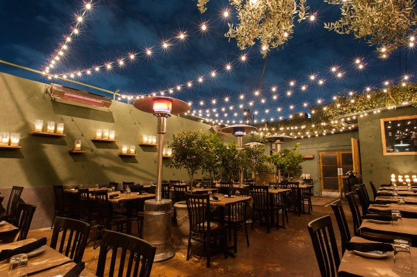 LA - Mare - American - Exterior - Patio with lights
