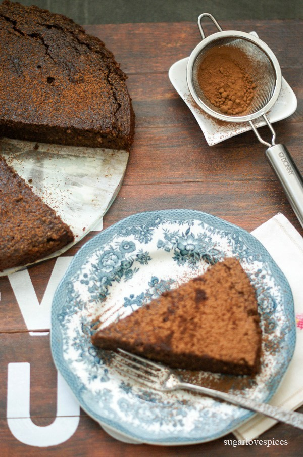Flourless Chocolate Cake With Beets