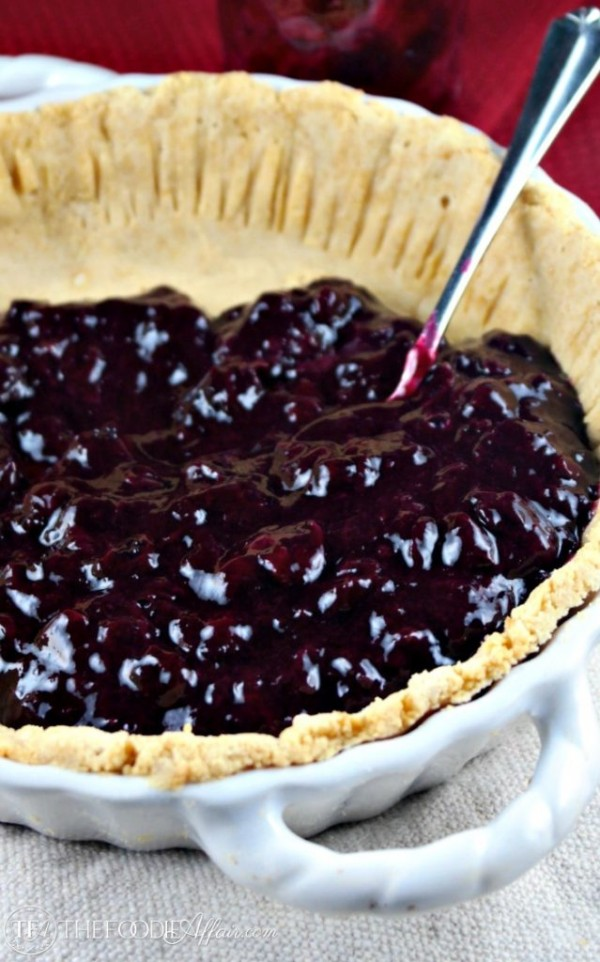 This low carb coconut flour pie crust is easy to make and will satisfy the sweet tooth while keeping sugar spiking carbs at a minimum! The Foodie Affair