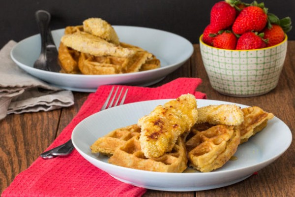 Chicken and Waffles Photo