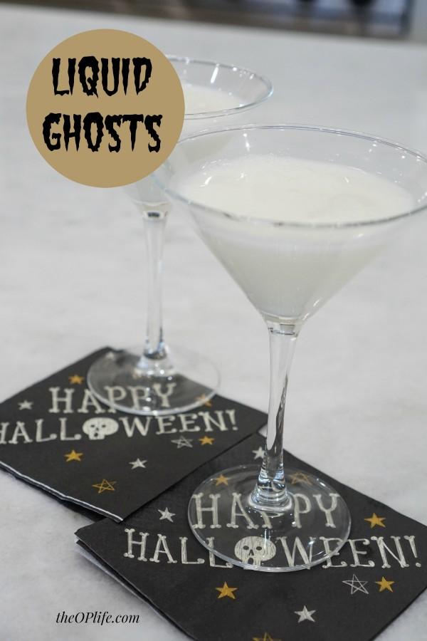 Liquid Ghosts  Halloween Cocktail TheOPLife