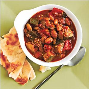 Easy Quinoa and Roasted Pepper Chili Recipe