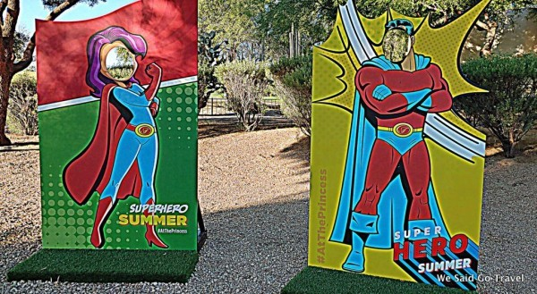 Superheros at Fairmont Scottsdale Princess
