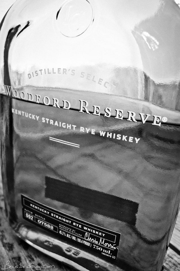 Woodford Reserve Rye, Front Label