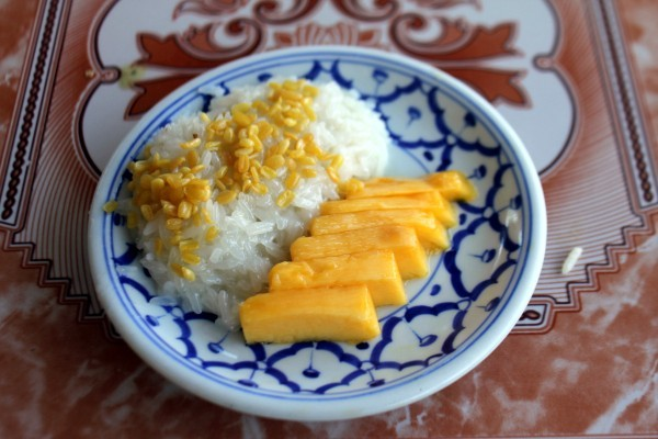 Refined Sugar Free Mango Sticky Rice