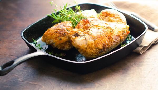 Weeknight Pan Roasted Chicken Breasts
