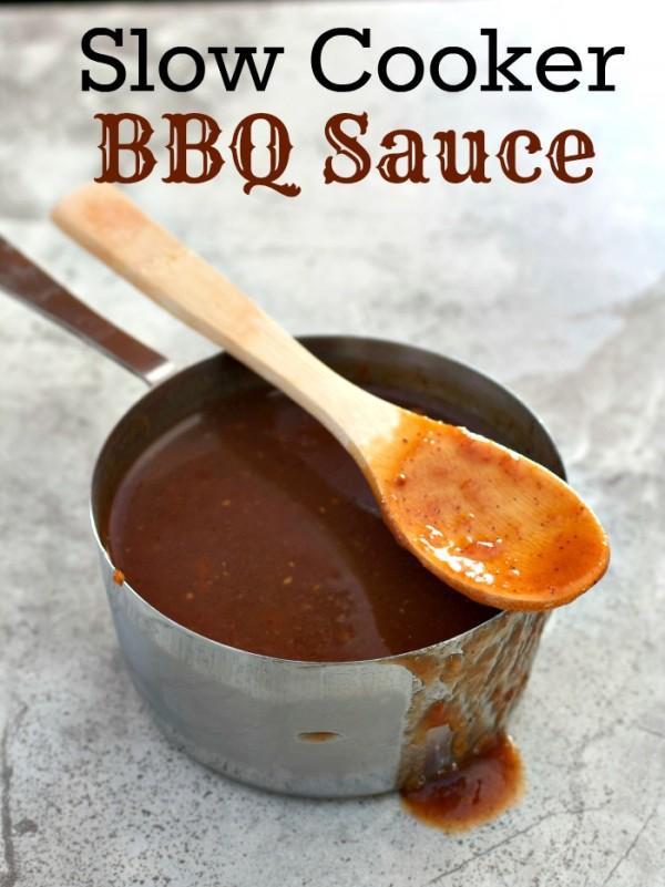 Slow Cooker BBQ Sauce
