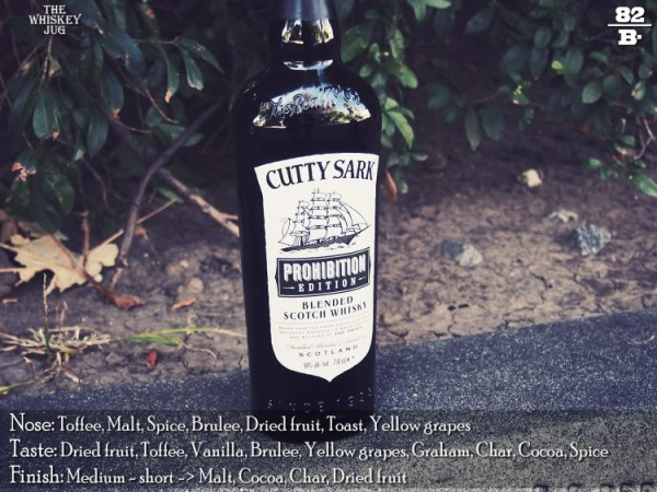 Cutty Sark Prohibition Review