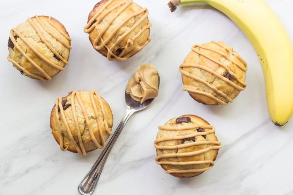 Chunky monkey muffins are great for breakfast, snacks, or dessert. Make a batch today!