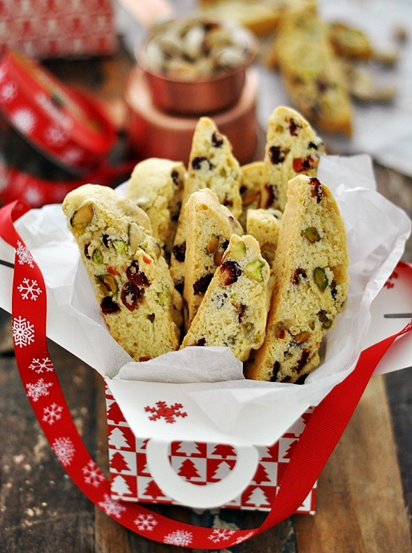 Edible Gift | Cranberry Pistachio Biscotti by Emily Tan ...