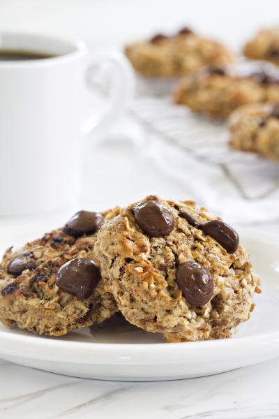 Chocolate Almond Breakfast Cookies Picture