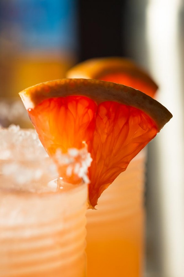 Salty Dog Cocktail - a refreshing combination of grapefruit juice and vodka, served in a salt-rimmed cocktail glass