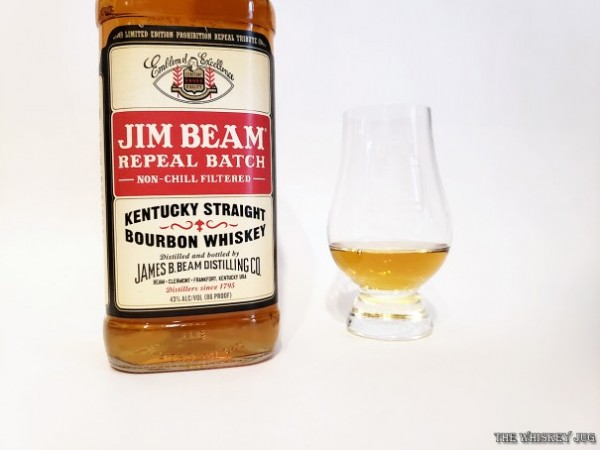 Take Jim Beam White, increase the proof by 3%, don't chill-filter it and you have yourself the new Jim Beam Repeal Batch Bourbon!