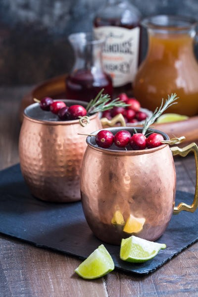 Cranberry Cider Mule Pic