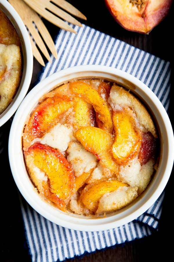 Peach Cobbler   Dessert For Two