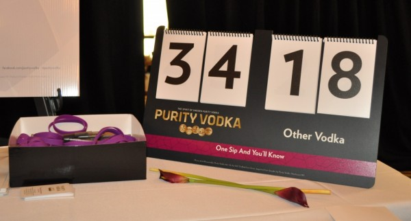 Purity Vodka Scoreboard 1 1024x550 The VODKA Taste Test: Purity Vodka Challenge