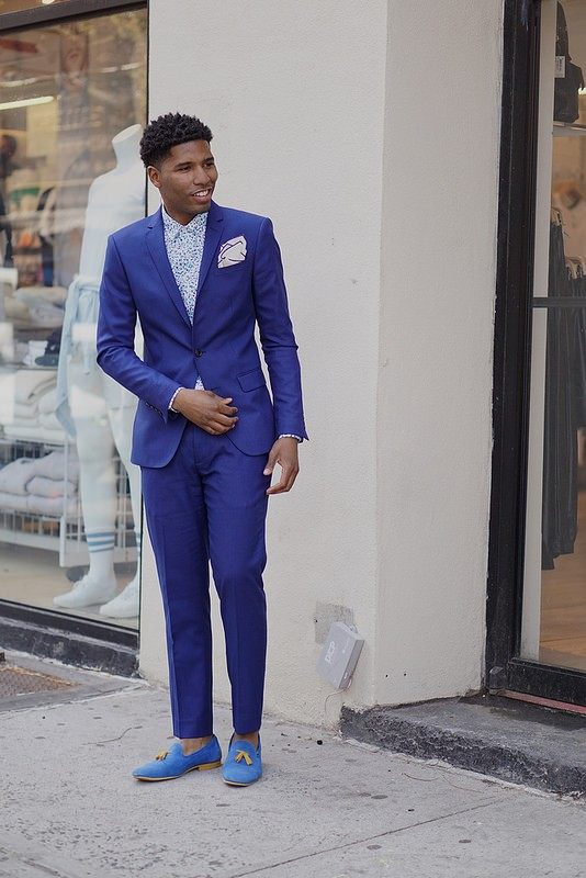 A Royal Blue Suit Will Get You Through Wedding Season by Jamal ...