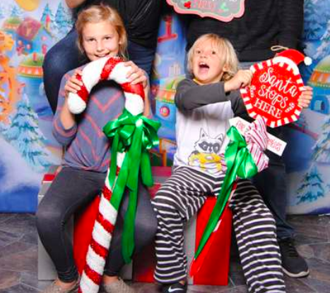 Cruz Family Santa HQ HGTV Photo Session
