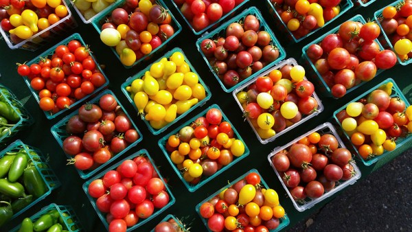 Fresh Farmer's Market Tomatoes - #epicurious #outofthekitchen