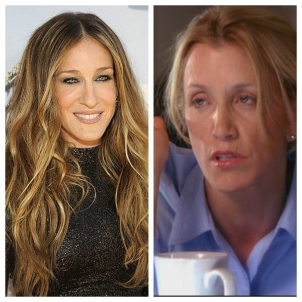 From Carrie Bradshaw to Lynette Scavo