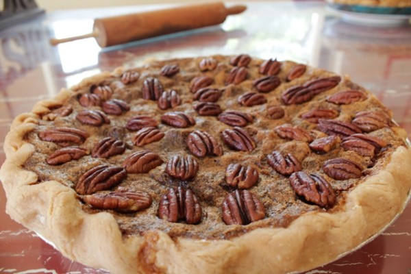 Bacon And Bourbon Pecan Pie Recipes — Dishmaps
