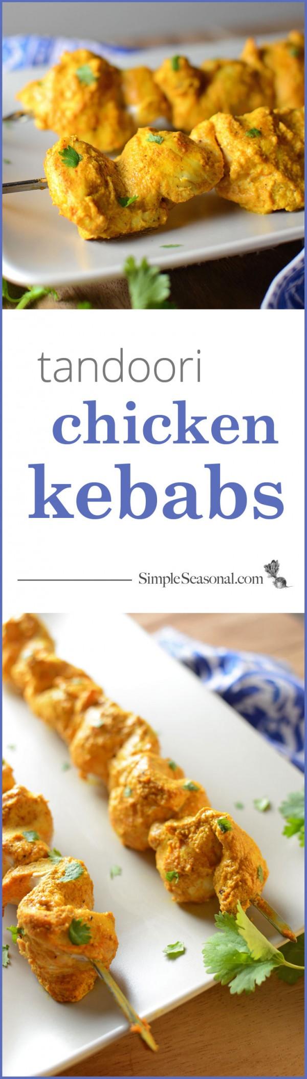 tandoori chicken kebabs for pinterest