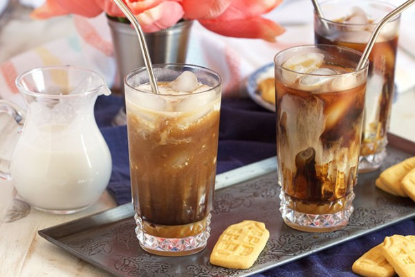 Iced Coconut Caramel Macchiato