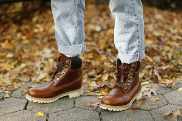 timberland six inch boots