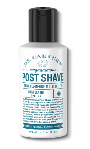 Dr. Carver's Magnanimous Post Shave