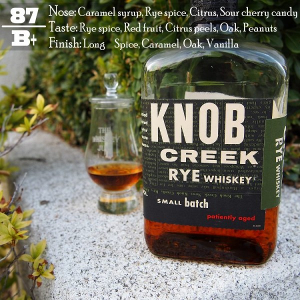 Knob Creek Rye Review