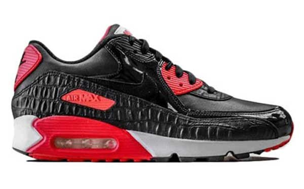 Nike Air Max 90 Crocodile Infrared Black Red