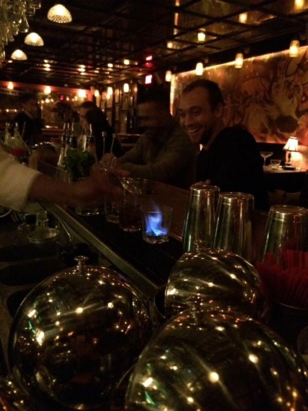 The Big Shot starts with flamed chartreuse