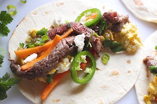 Steak + Egg Tacos | LocalSavour.com