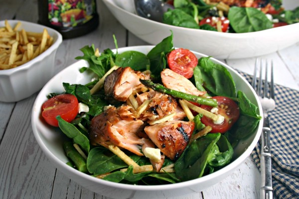 Grilled Salmon Salad | Life, Love, and Good Food