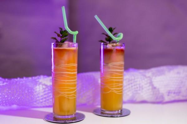 ancho reyes, apricot liqour, cognac, rum