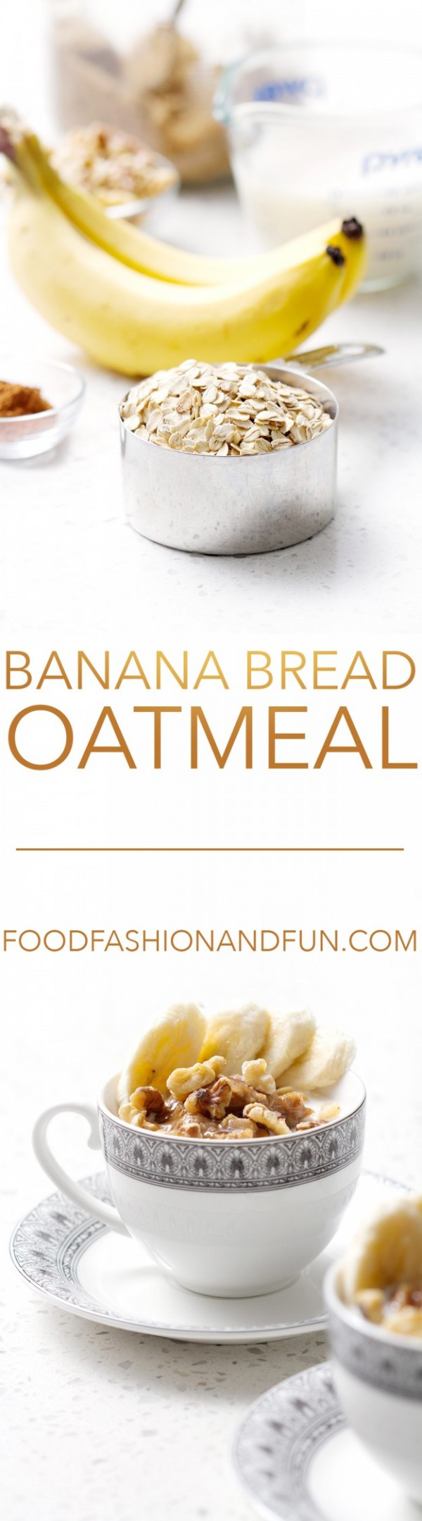 Banana Bread Oatmeal   Food Fashion and Fun