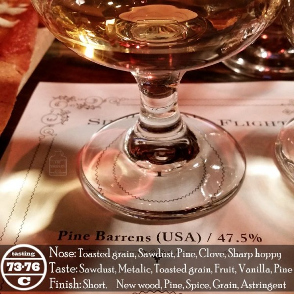 Pine Barrens American Single Malt Review