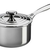 Le Creuset 3-quart Stainless Steel Saucepan