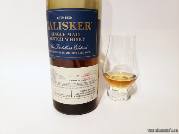 Talisker Distiller's Edition 2015 is an improvement over the 2015, but not as good as the 2010.