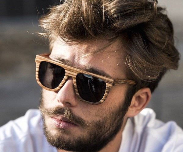 Wondering how to beat the heat in style? Why not try these Saturn Wooden Sunglasses.