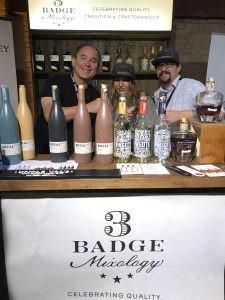 Richard Zeller and team with 3 Badge Beverages