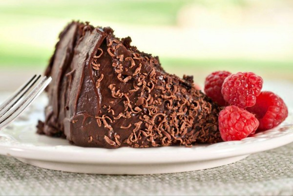 Golden Stage Inn's signature Saturday Night Chocolate Cake