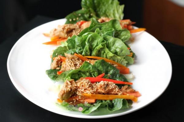 Thai Chicken Lettuce Wraps5
